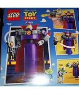 Lego Special Edition Toy Story Buzz Lightyear Nemesis Zurg 118 Pieces NEW - $25.00