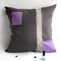 [Black Temptation] Knitted Fabric Pillow Cushion - $23.99