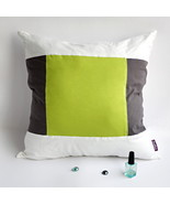 [Art Green] Knitted Fabric Pillow Cushion - $23.99