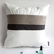 [White Lady] Knitted Fabric Pillow Cushion - $23.99