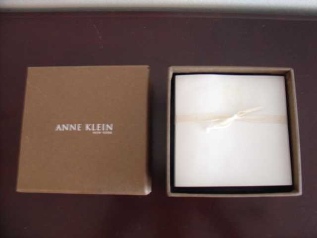 Anne Klein note pad in a gift box