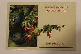 1995 New Zealand 7 Coin 2 Piece COA & Document Set~No Coins~Free Shipping - $6.75
