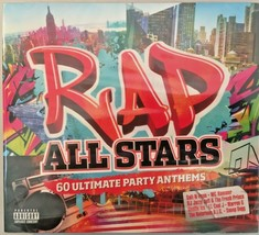 Rap All Stars 60 Ultimate Party Anthems Compilation CD Album 3 Disc Set - $10.49
