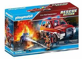 Playmobil City Fire Emergency - $27.99