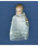 Hand Made 3 Inch Porcelain  Baby Doll Signed by Artist - $14.99