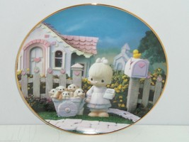 Precious Moments Plate A Cheerful Giver Hamilton Classic Collection Coll... - $59.95