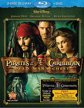 Pirates Of The Caribbean Dead Mans Chest (Blu-ray/DVD/2 Disc Combo)