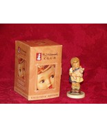 "Hummel Goebel Figurine Hum 2052 ""Pigtails"" Mint With Box Club Exclusive - $16.49"