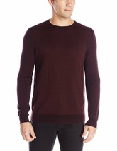 Calvin Klein Men Merino Acrylic CREW-NECK Sweater, Dark Chestnut Xxl $89 [13592] - $24.49