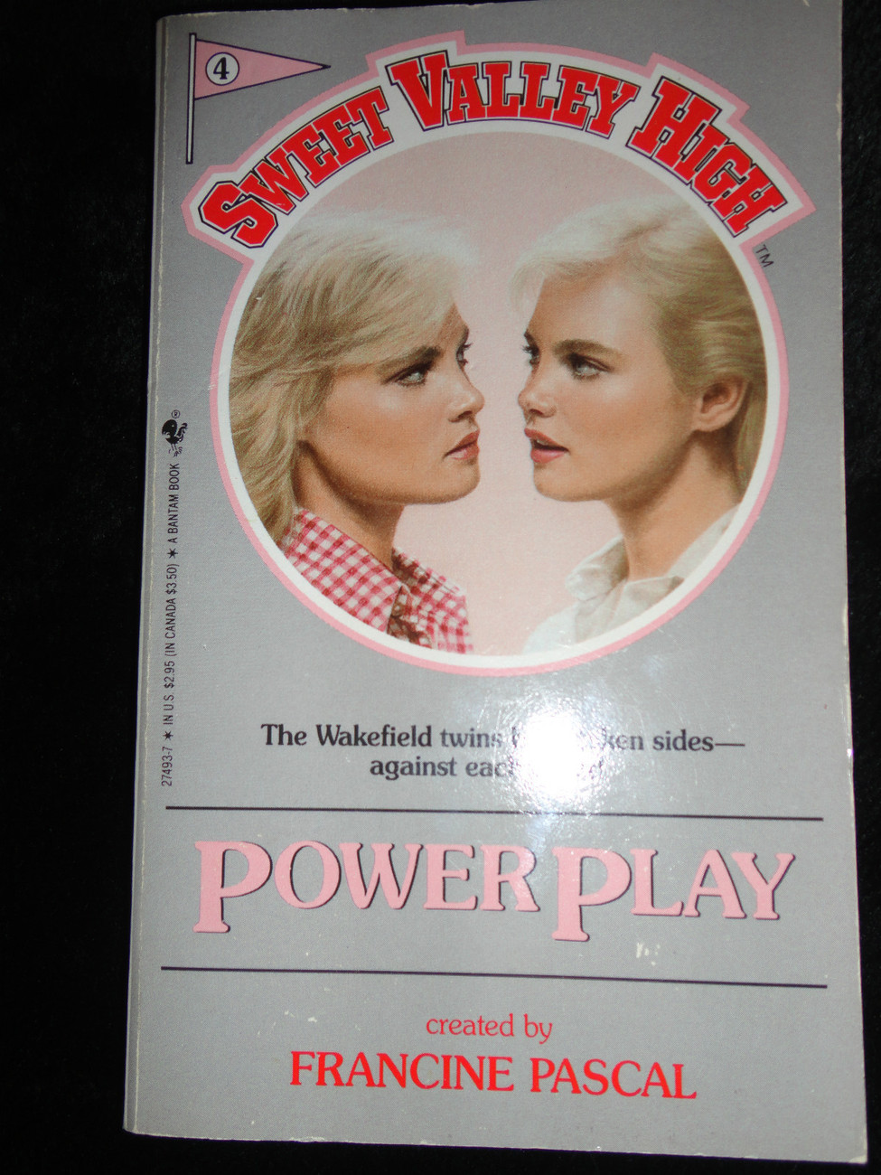 Primary image for Power Play No. 4 by Francine Pascal (1984, Paperback)