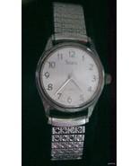 Vintage Sears Mans Watch 7J Working Japan Movem... - $35.95