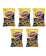 FRITOS ORIGINAL CORN CHIPS 5 Bags 370g Fresh Canadian, Made In Canada - $59.39