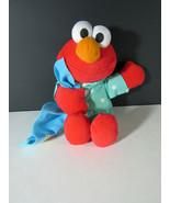 1999 Tyco Talking Elmo Plush PJs Pajamas Blanket - $12.86