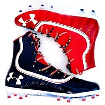 New UA Under Armour Highlight MC Football Cleats USA Red White Blue Mens... - $139.99