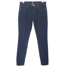 Forever 21 Womens size 28 Skinny Stretch Denim Dark Blue Denim Jeans 30 ... - $21.77