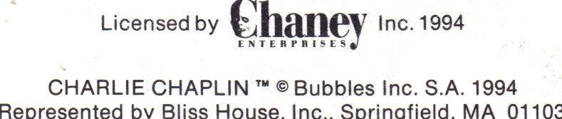 Silent Screen Stars LON CHANEY CHARLIE CHAPLIN Official 1st