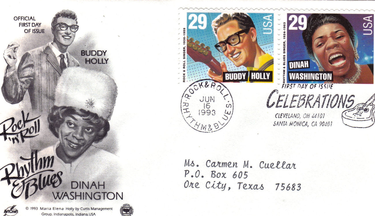 1st day issue buddy holly