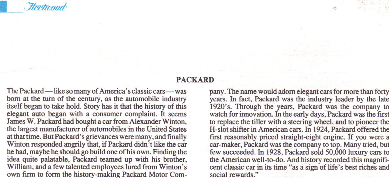 The 1932 PACKARD Official 1st Day Of Issue
