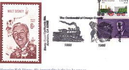 Honoring WALT DISNEY Stamp Expo/California Sta. Anaheim, Ca  - $1.95