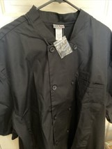 NEW chef Jacket - UA chef Uniform - Black XXL - NWT -  - $14.80