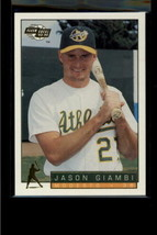 1993 FLEER EXCEL #120 JASON GIAMBI NM-MT - $0.98