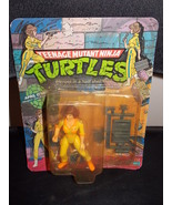 Vintage 1988 Teenage Mutant Ninja Turtles April Oneil Carded Figure - $34.99