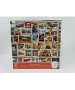 Ceaco 1000 Pc Jigsaw Puzzle - Car Stamps - Made Once - $19.99