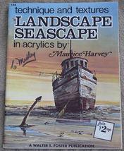 Landscape Seascape in Acrylics Walter T. Foster No. 148  - $12.00