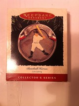 HALLMARK  LOU GEHRIG CHRISTMAS ORNAMENT--1995--IRON HORSE --NEW - $3.82