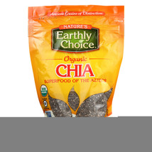 Nature's Earthly Choice Chia Seeds - Case of 6 - 8 oz. - $30.26
