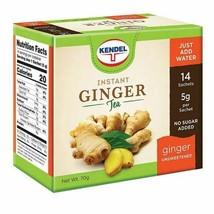 Kendel Instant Ginger Tea Unsweetened - $11.88