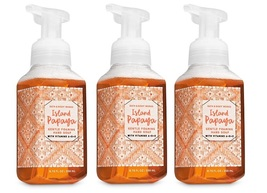 Bath & Body Works Island Papaya Gentle Foaming Hand Soap - 3 Pack - $18.99