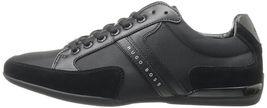 Hugo Boss Green Men's Premium Sport Fashion Sneakers Running Shoes Spacit image 3
