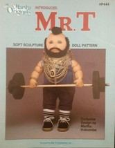 Mr.T from Miss Martha Originals Soft Sculpture ... - $7.49