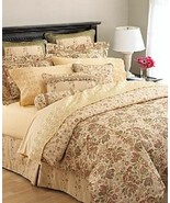 Waterford Meadow Flower Embroidered Floral Multi 3-PC Queen Comforter an... - $225.00