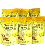 Prince of Peace Ginger Chews Candy with Lemon Flavor 4 oz ( Pack of 6 ) - $18.66