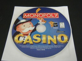 Monopoly Casino (PC, 1999) - Disc Only!!!! - $5.77