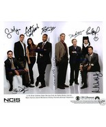 NCIS SIGNED AUTOGRAPH AUTOGRAMME 8x10 RP PHOTO by ALL 8 FULL CAST MARK H... - $17.99