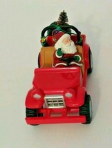 Christmas Ornament Here Comes Santa Hallmark Keepsake  Series 1996 Santa... - $20.69