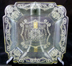 Indiana Depression Glass Lorain Clear Plate - $14.36