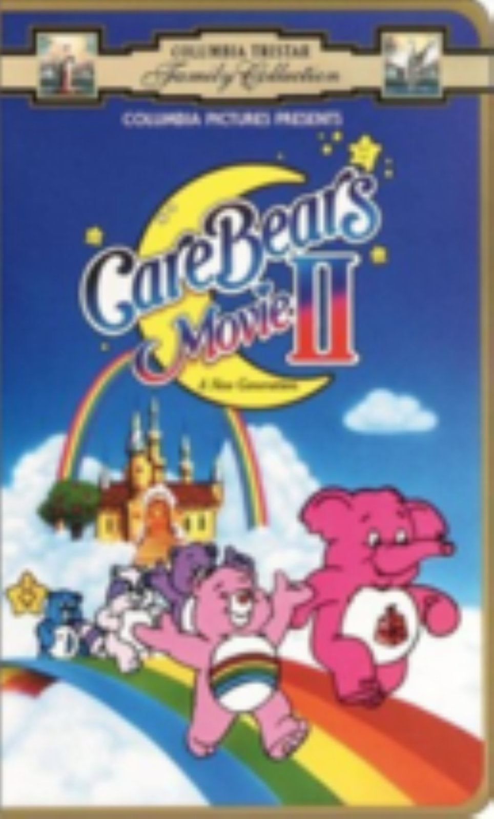 Care Bears Movie 2 Vhs