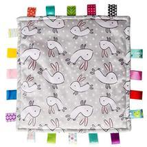 "Taggies Original Blanket, 12 X 12"", Comfy Bunnies - $18.99"