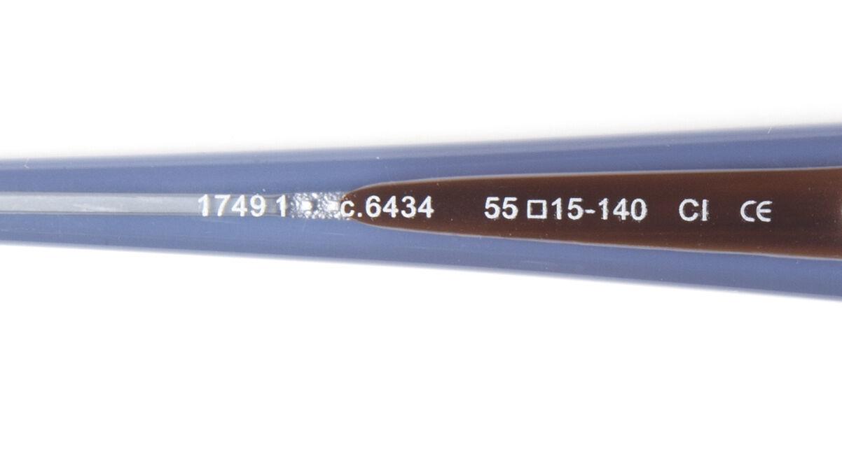 NEW PRODESIGN DENMARK 1749 1 c.6434 GREY-BROWN EYEGLASSES FRAME 55-15-140 B33mm