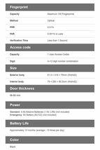 [Express] Samsung SHS-H700 Biometric Fingerprint Door Lock English Interface image 6