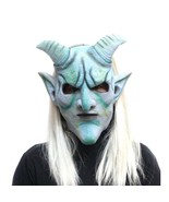 Scary Classic Demon Mask Full Face Latex Nightmare Halloween Special Cos... - $18.70