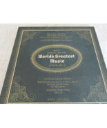 The Basic Library Of The World's Greatest Music No. 21 Record Album  - $5.00