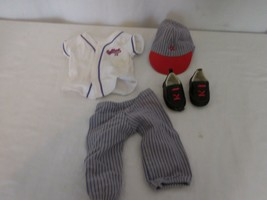 American Girl Retired 2009 Red And Purple Softball Outfit   - $21.80