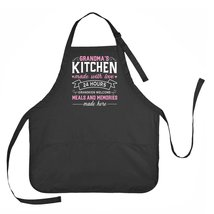 Grandma's Kitchen Apron, Mother's Day Grandma Apron, Grandmother Mother'... - $23.71 CAD