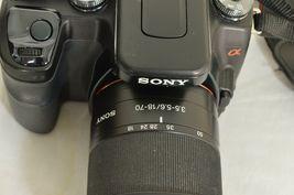 Sony Alpha a100 10.2MP Digital SLR Camera - Black (Kit w/ DT 18-70mm Lens) image 8