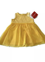 Hanna Andersson Yellow Tulle Dress 75 cm  US 12-18 Months  - $14.03